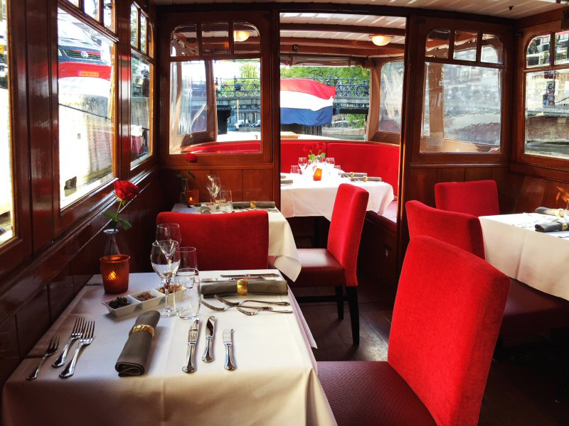 private dinner cruise amsterdam